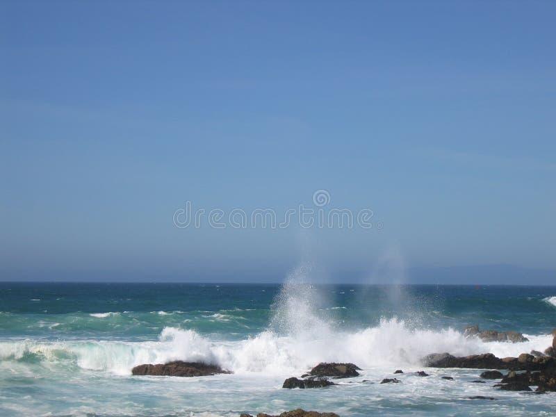niespokojny morza zdjęcie royalty free