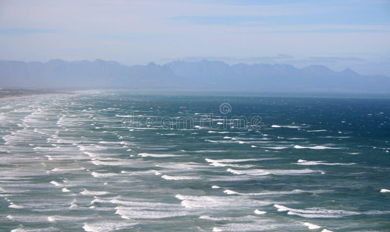 niespokojny oceanu zdjęcia royalty free