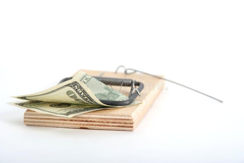 Niespokojny Pieniądze Obrazy Stock