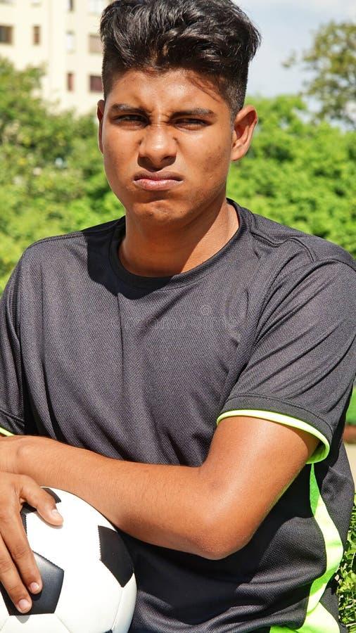 Nieszczęśliwa Latynoska osoba zdjęcie stock