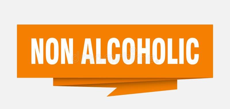 niet alcoholisch vector illustratie
