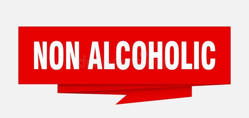 niet alcoholisch stock illustratie
