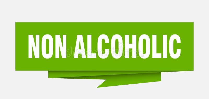 niet alcoholisch royalty-vrije illustratie