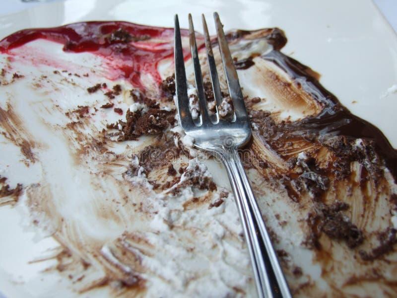 Niet meer Cake stock fotografie