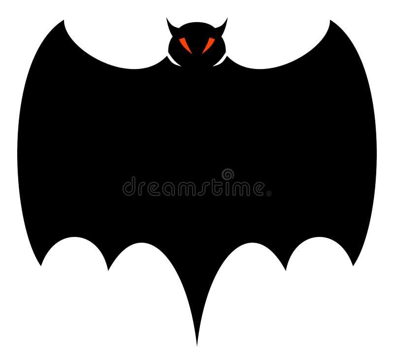 nietoperz Halloween. ilustracja wektor