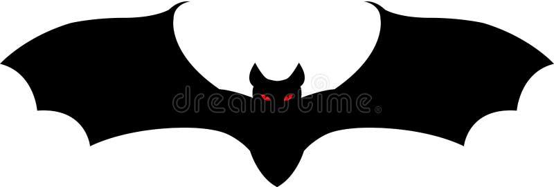 nietoperz Halloween royalty ilustracja