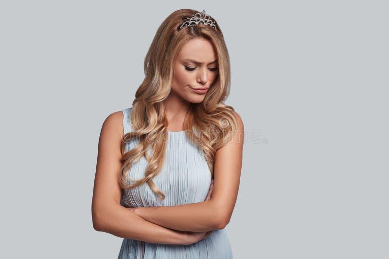 Niets juicht omhoog haar toe royalty-vrije stock foto's