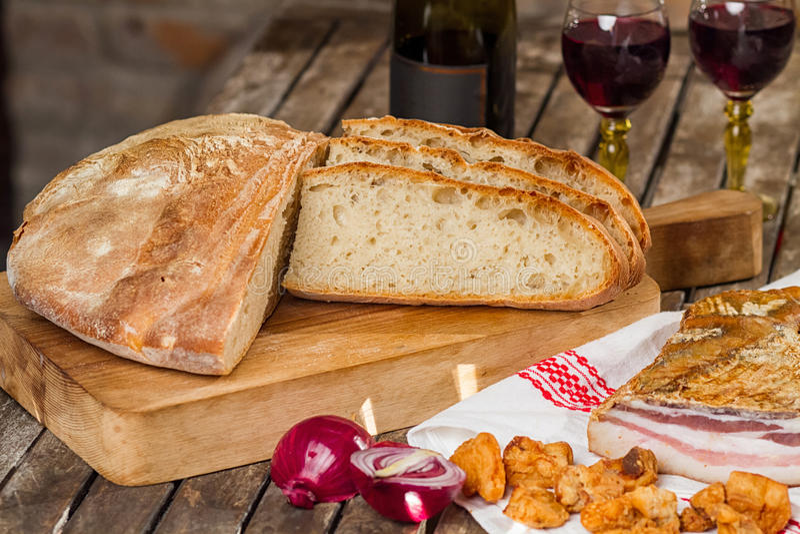Nieuw brood royalty-vrije stock fotografie