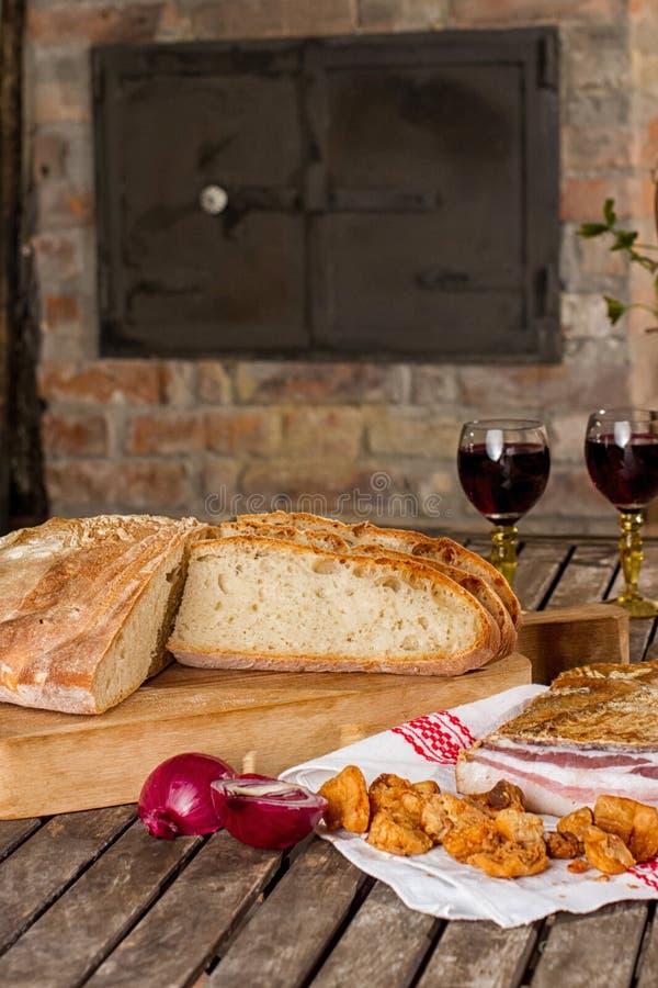 Nieuw brood royalty-vrije stock afbeeldingen