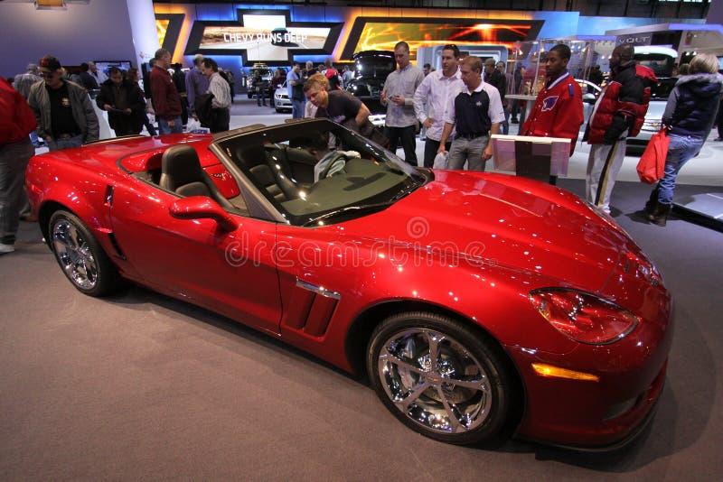 Nieuw Chevrolet Korvet 2011 royalty-vrije stock fotografie