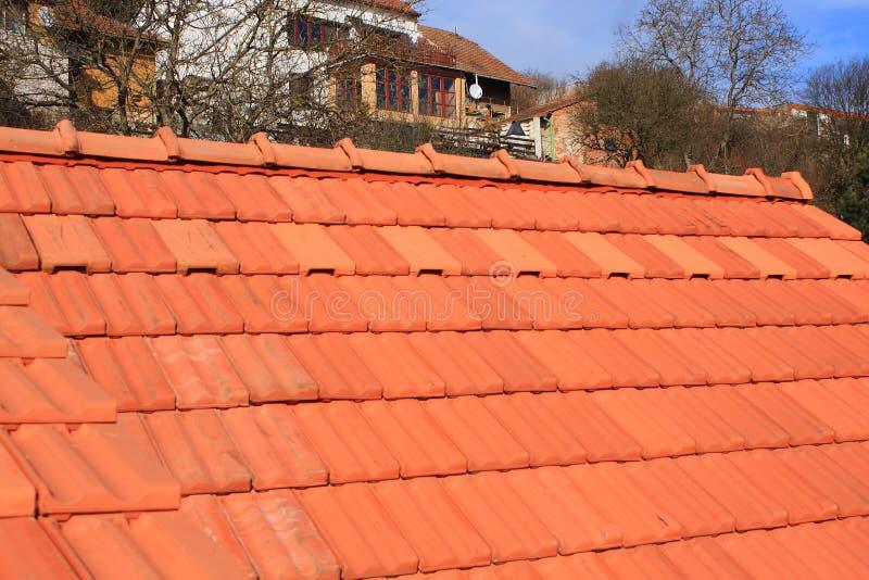 Nieuw dak royalty-vrije stock fotografie