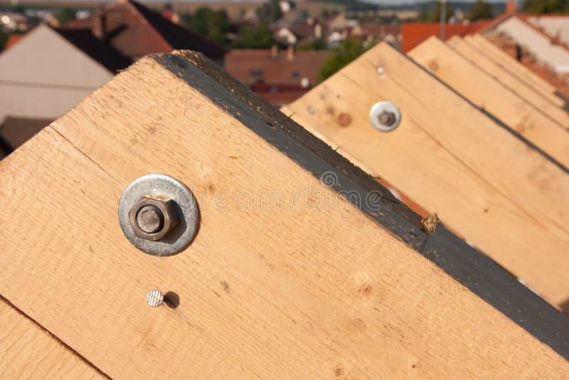 Nieuw dakframe stock foto