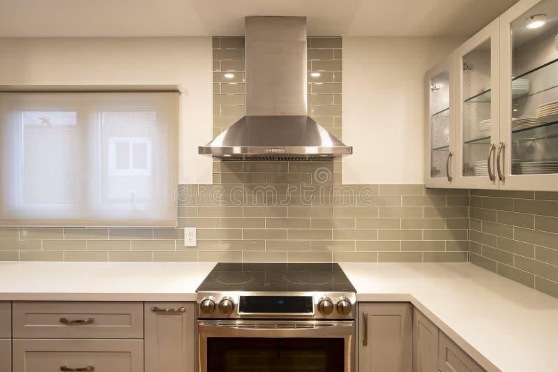 Nieuw en modern Open Concept Kitchen #3 royalty-vrije stock fotografie