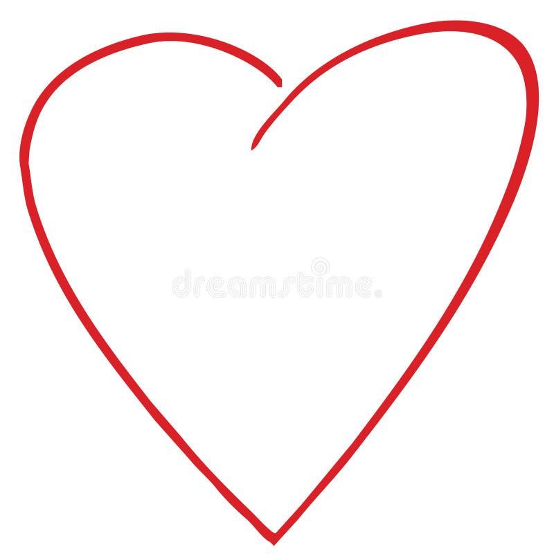 Nieuw hart stock illustratie