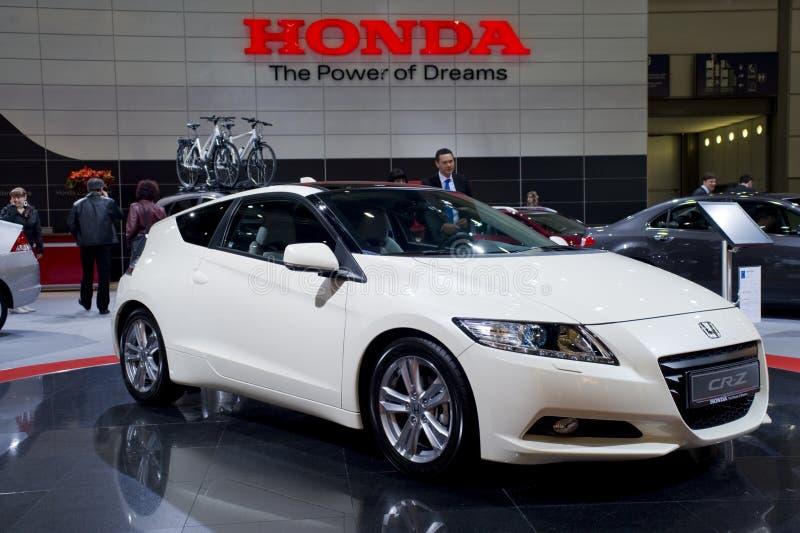 Nieuw Honda Cr-z, sportwagen stock foto