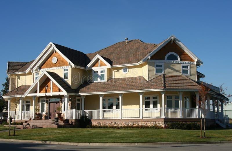 Nieuw huis. stock foto