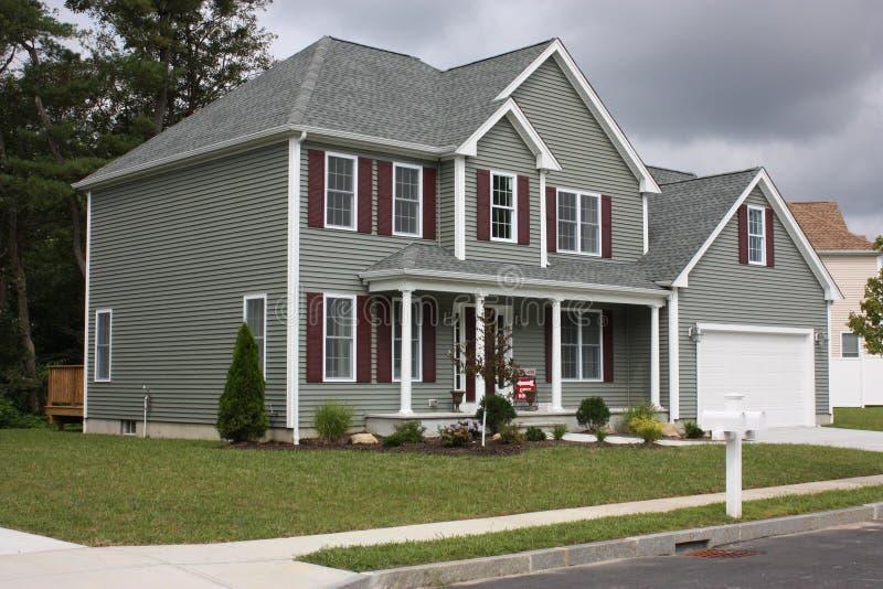 Nieuw Huis stock afbeeldingen
