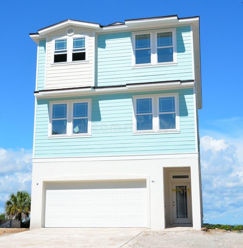 Nieuw huis in kustflorida royalty-vrije stock foto's
