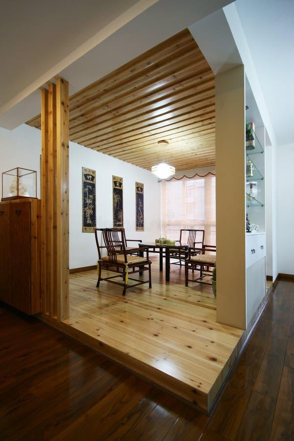 Nieuw huis in Peking stock foto