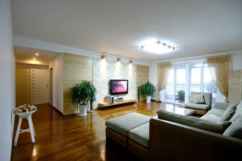 Nieuw huis in Peking stock fotografie