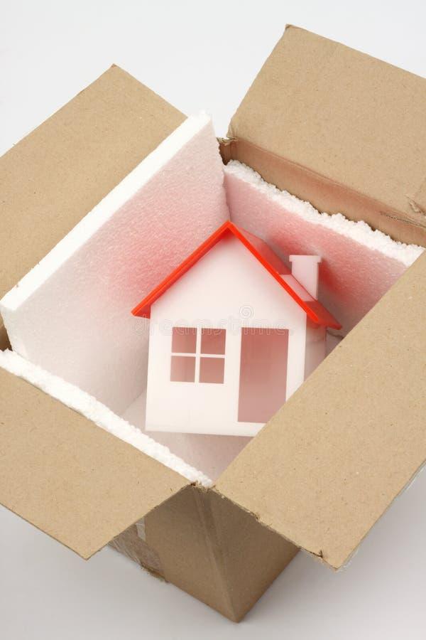 Nieuw huisconcept stock afbeelding