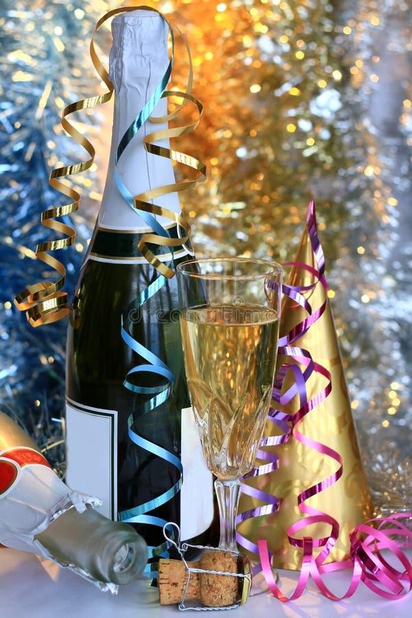 Nieuw jaar 1 stock afbeelding