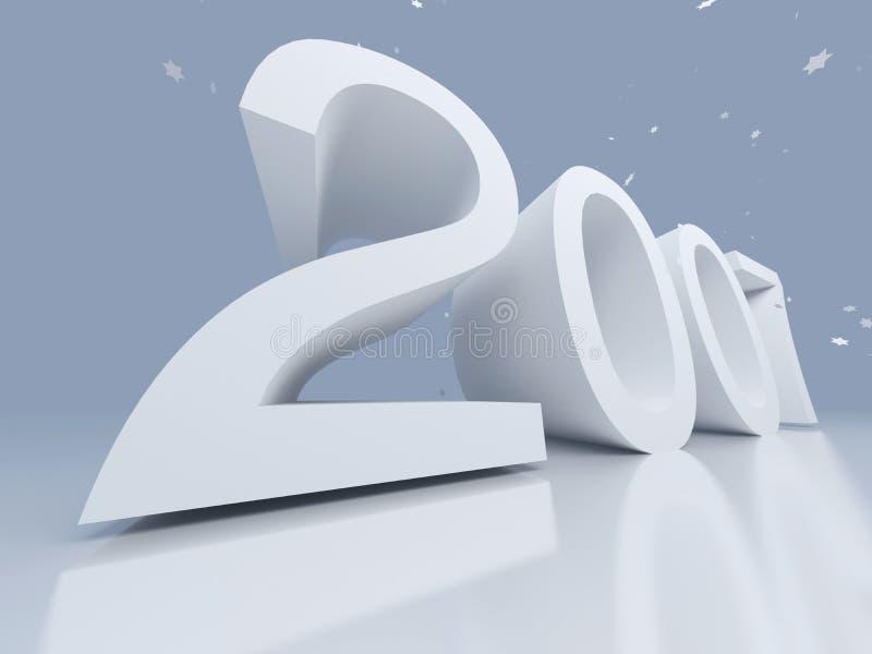 Nieuw jaar vector illustratie