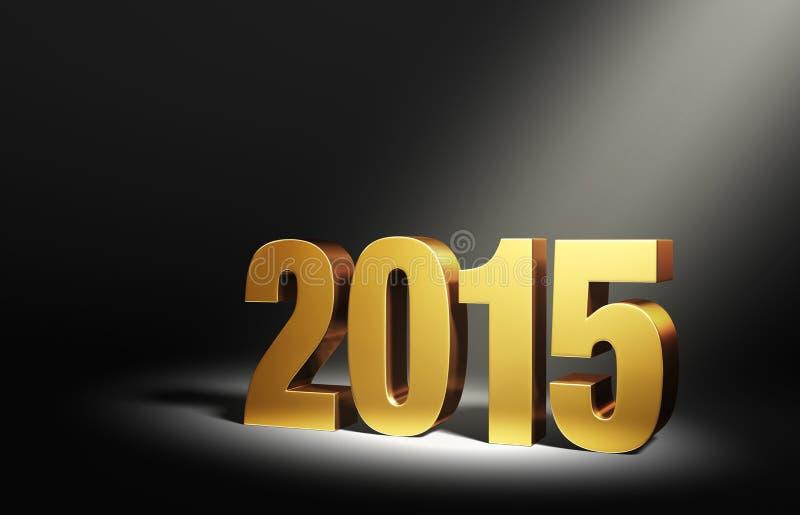 Nieuw jaar 2015 vector illustratie