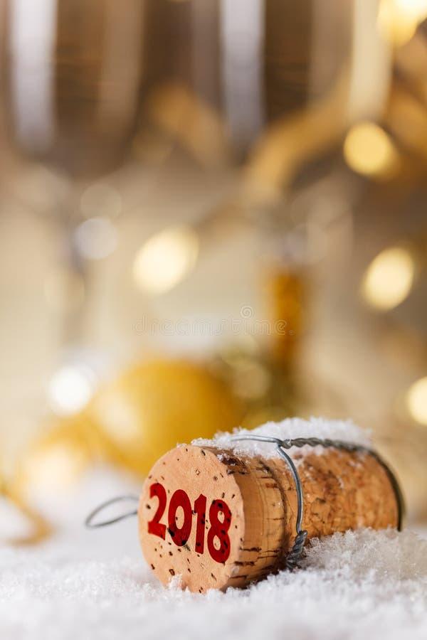 Nieuw jaar`s concept stock foto's