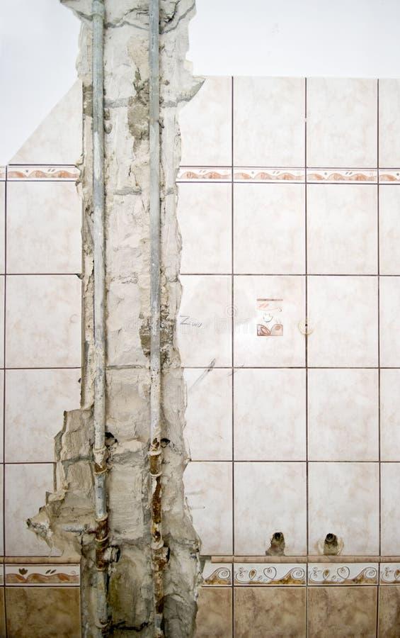 Nieuw loodgieterswerk stock fotografie
