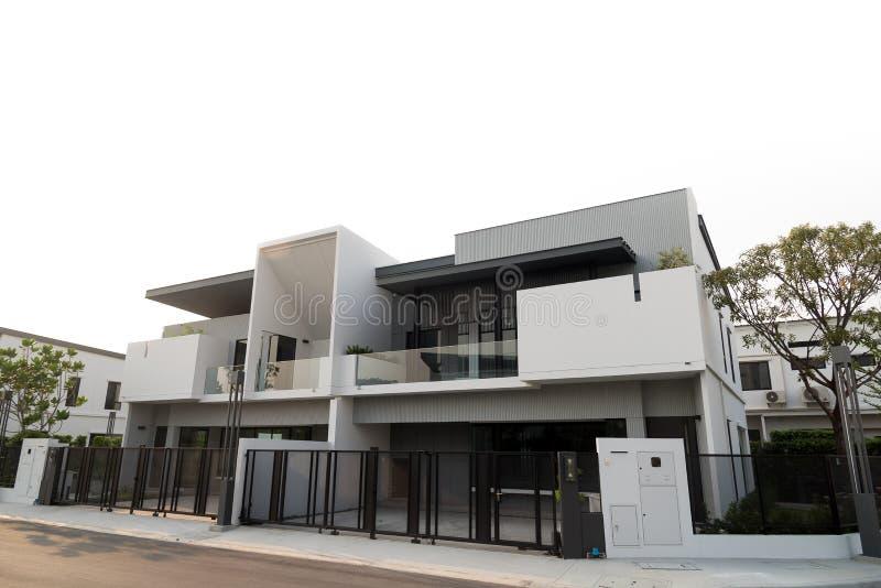 Nieuw luxehuis voor verkoop of huur royalty-vrije stock foto's