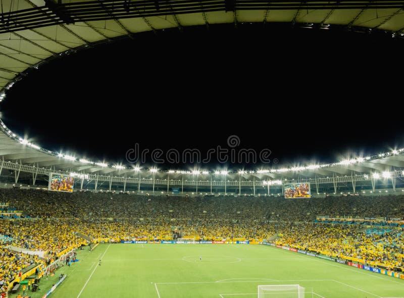 Nieuw Maracana-Stadion voor Wereldbeker 2014 stock foto's