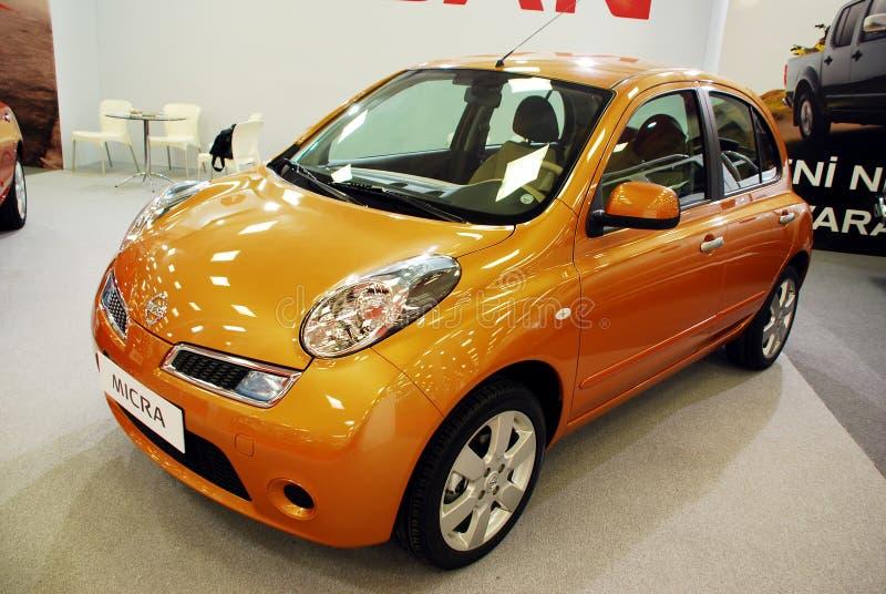 Nieuw Nissan Micra stock foto