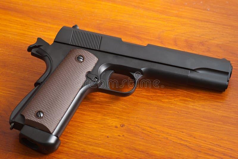 Nieuw pistool stock foto