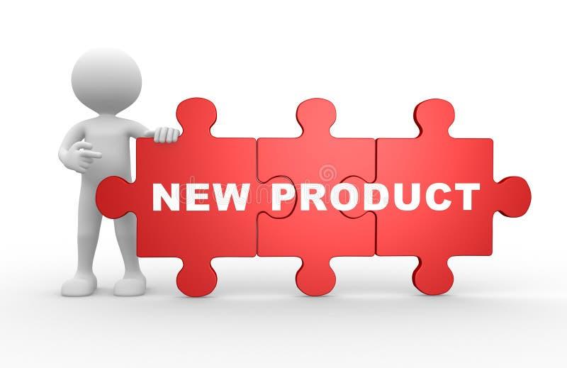 Nieuw product vector illustratie