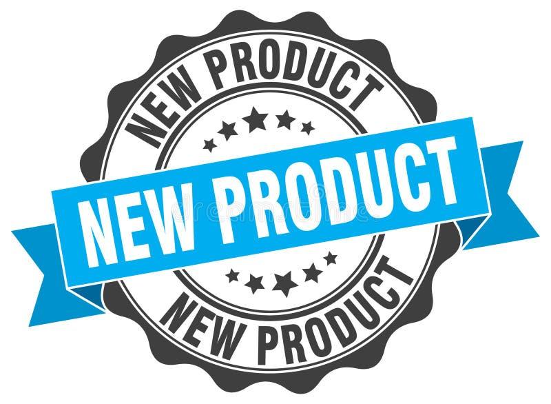 Nieuw productzegel vector illustratie