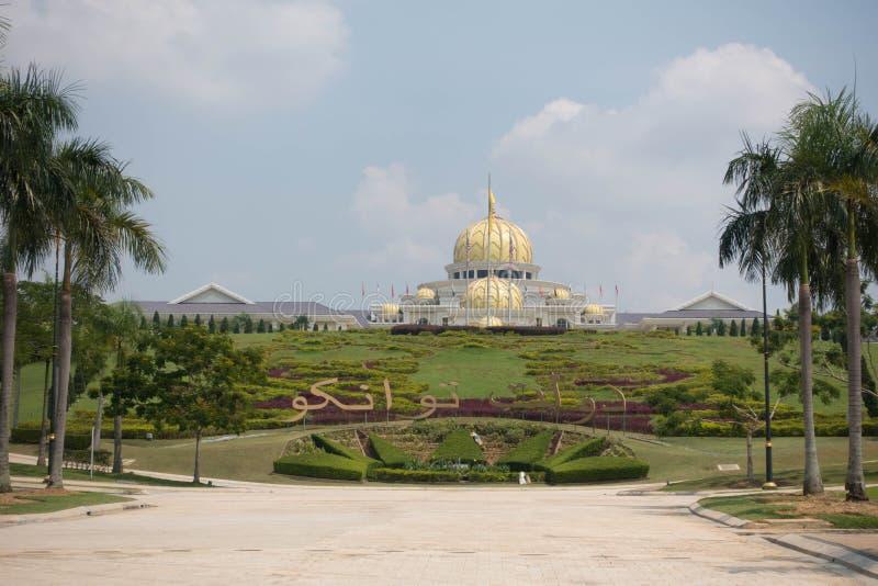 Nieuw Royal Palace Istana Negara stock afbeelding
