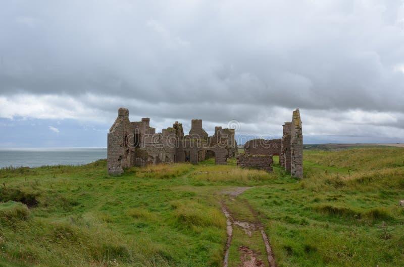 Nieuw Slains-Kasteel, Aberdeenshire, Schotland royalty-vrije stock afbeelding