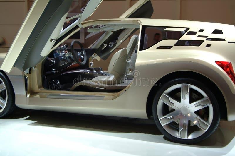 Nieuw sportwagenconcept royalty-vrije stock afbeelding