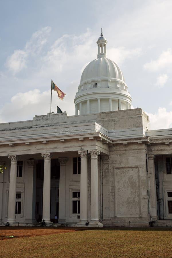 Nieuw Stadhuis in Colombo stock foto's
