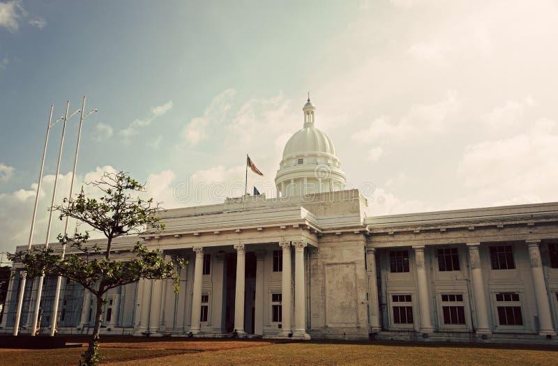 Nieuw Stadhuis in Colombo stock afbeelding