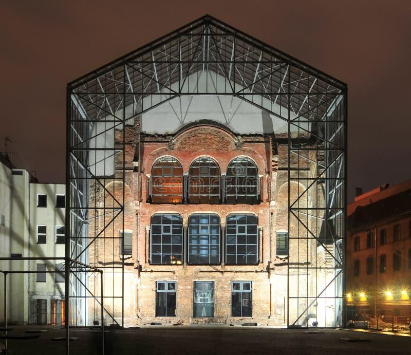 Nieuw Synagogeachtergedeelte - Berlijn, Duitsland royalty-vrije stock foto's