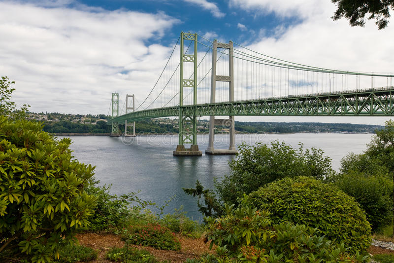 Nieuw Tacoma versmalt stock foto