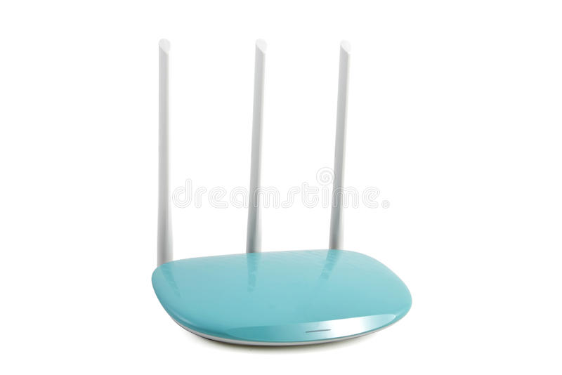 Nieuw type van draadloze router royalty-vrije stock foto's