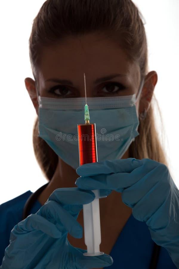 Nieuw vaccin stock foto