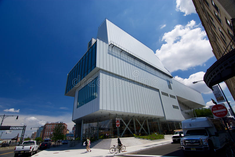Nieuw Whitney Museum royalty-vrije stock foto's