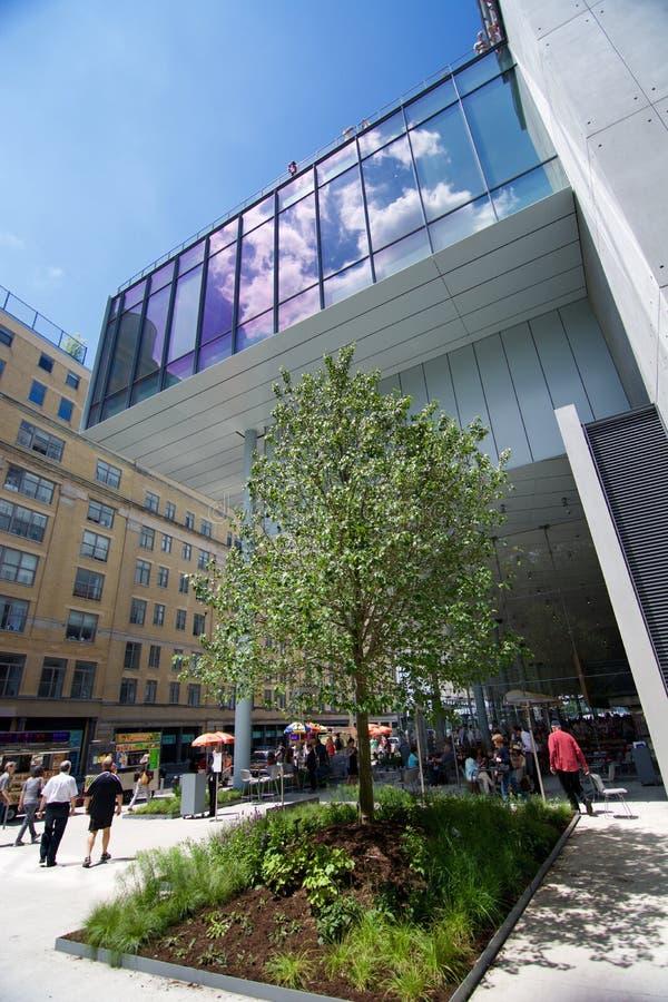 Nieuw Whitney Museum royalty-vrije stock fotografie