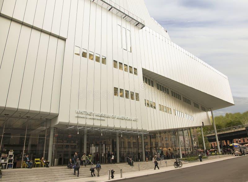 Nieuw Whitney Museum royalty-vrije stock afbeelding