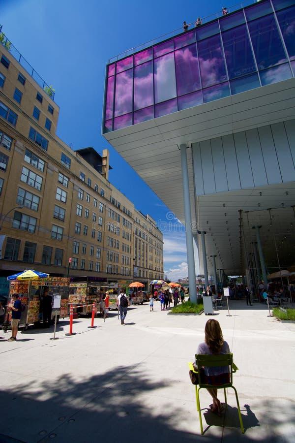 Nieuw Whitney Museum in NYC royalty-vrije stock fotografie