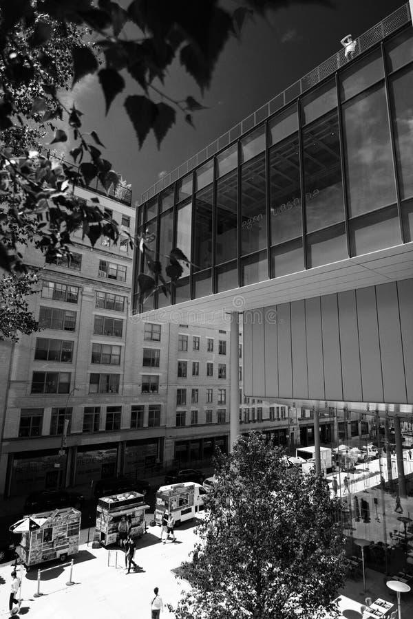 Nieuw Whitney Museum in NYC stock fotografie
